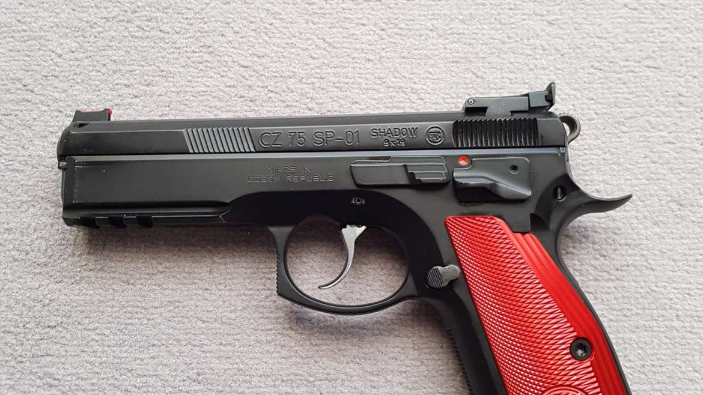 Pistolet CZ SP 01 Shadow